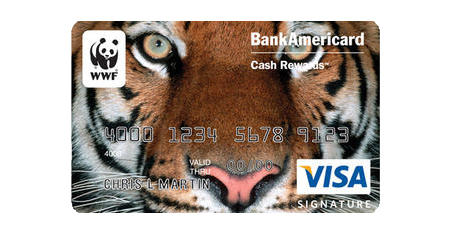 WWF Visa Signature® credit card