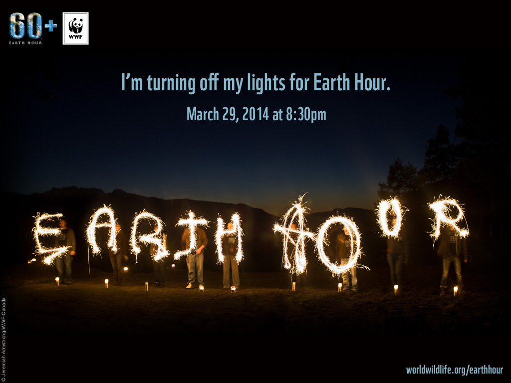 Earth Hour 2014 - Switch off your lights!