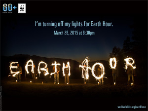 Earth Hour wallpaper