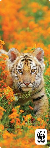 Tiger bookmark