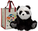 Panda plush adoption